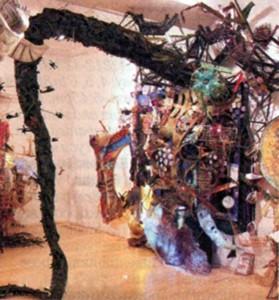 Jesse Bercowetz & Matt Bua, Installation View of 'Things Got Legs', 2006, courtesy of Derek Eller Gallery