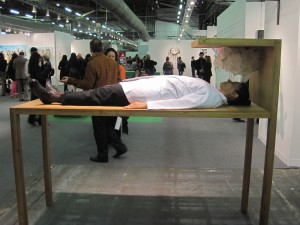 'Bed for Human Use,' Marina Abramovic, 2012