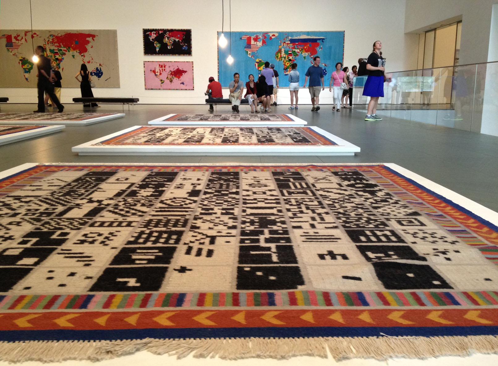 Alighiero Boetti At The Museum Of Modern Art  New York Art Tours